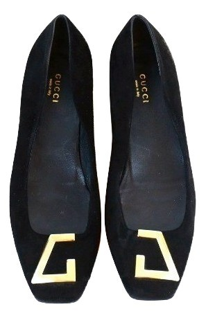 463dc012078 Authentic gucci women flat shoes black suede and 50 similar items. Img  6845428437 1540317885