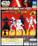 ARTS STAR WARS Characters GACHA GALAXY DESKTOP FIRST ORDER Phase 2 Full ... - $39.99