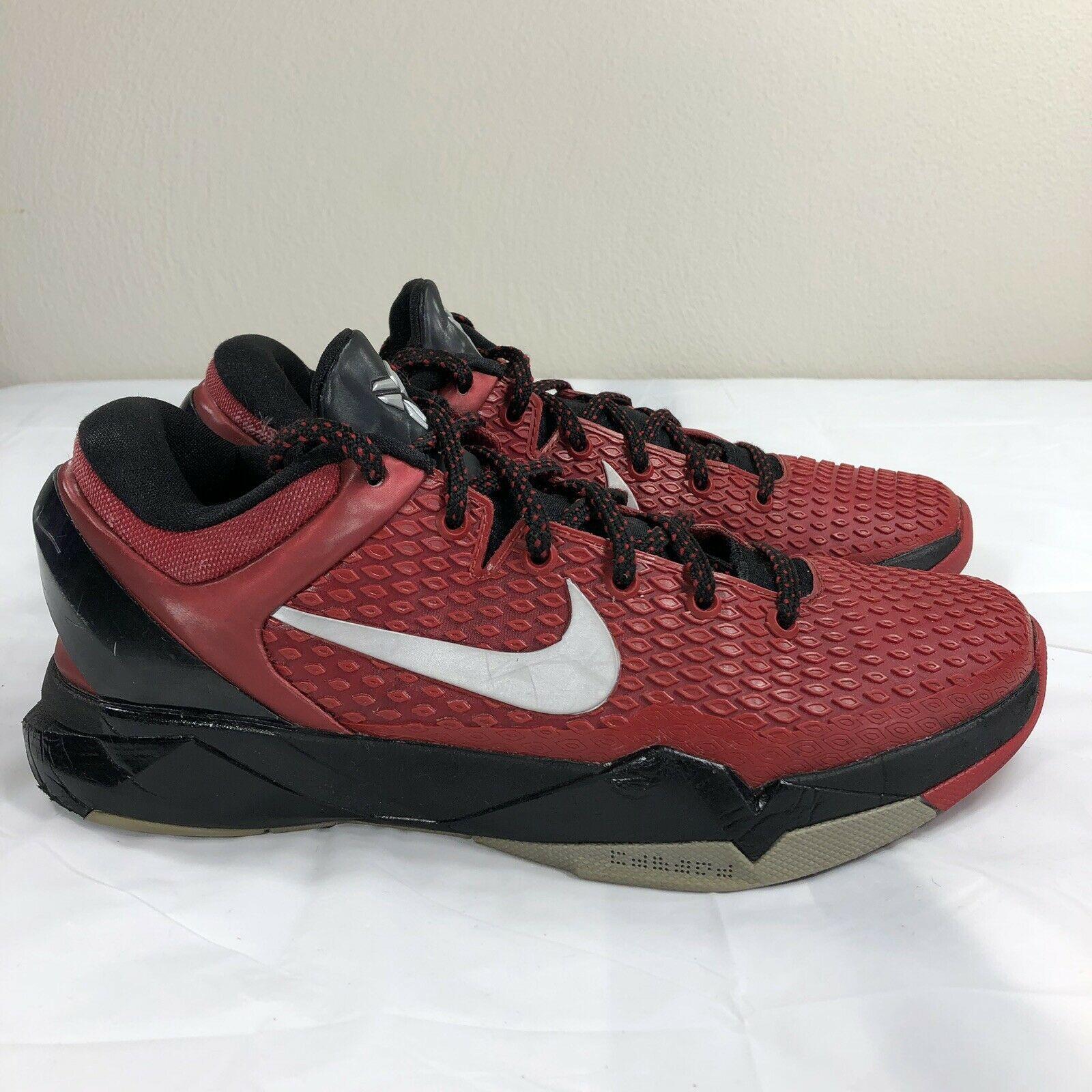 quality design afc66 15895 Nike Kobe VII 7 Red Black Men s 7.5 Mamba Lakers System Air Zoom Swoosh