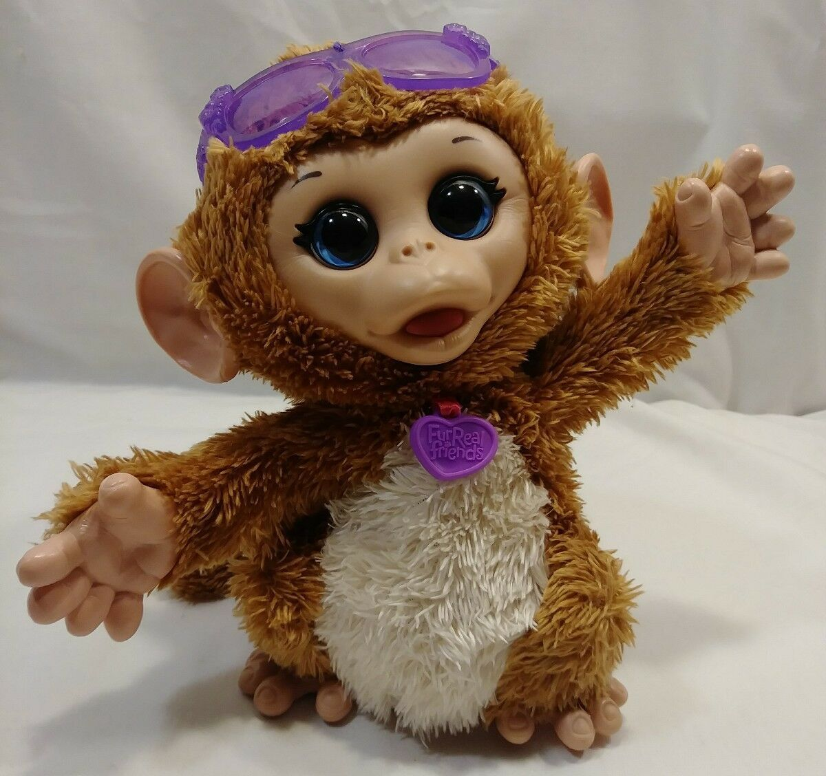 Primary image for FURREAL FRIENDS BABY  CUDDLES MY GIGGLY MONKEY PET  INTERACTIVE  MONKEY (E)