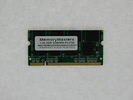 1GB MEMORY FOR TOSHIBA SATELLITE A75 S125 S1253 S206 S2061 S209 S2091 S211 S2111