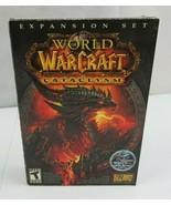 PC DVD Video Game World of Warcraft Cataclysm Windows/Mac 2010 - $15.00