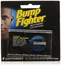 Bump Fighter Refill Cartridge Razor Blades - 5 Each (2 Packs)  - $11.31