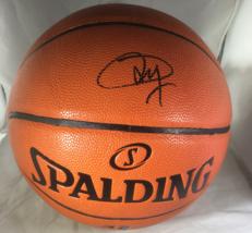 JOEL EMBIID / PHILADELPHIA 76ERS / AUTOGRAPHED FULL SIZE NBA BASKETBALL / COA
