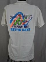 VTG Southside Johnny & the Asbury Jukes Better Days Concert Tour T-Shirt Men's L - $59.39