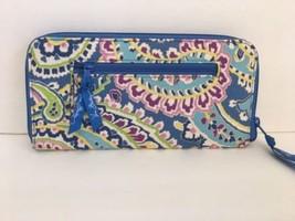 Vera Bradley quilted wallet - $29.99