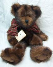 "Boyds SABLE B. BEARSDALE DARK BROWN TEDDY BEAR 13"" Plush STUFFED ANIMAL ... - $19.80"