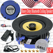"Gravity SG-6HiBT 8.9"" 150 Watts Ceiling Speakers with Bluetooth Wall Spe... - $79.90"
