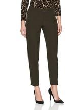 Anne Klein Women's Slim Leg Bowie Pant Tyrol Size 12/8 - $102.99