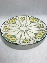 Vintage Royal doulton China  D3062  flowers plate 10.5 inch dinner Art nouveau - $44.54
