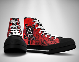 30 SECONDS TO MARS Canvas Sneakers Shoes - $49.99