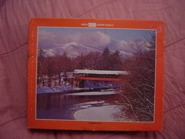 Whitman 1000 Piece Puzzle - Covered Bridge - $20.71
