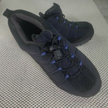 Women's Lands End 34694 Size 8 B Hiking Walking Shoe Black - $34.64