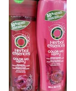 HERBAL ESSENCES COLOR ME HAPPY SHAMPOO AND CODITIONER - $13.85