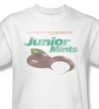 Junior Mints In Chocolate Cool Peppermint Sweet Distressed Graphic Tee TR104 image 2