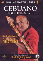 Filipino Martial Art Cebuano Stick Fighting #5 DVD GM Felix Roiles escri... - $27.50