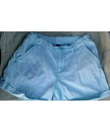 EUC Gap Kids Light Blue Cuffed Shorts Size 8P 8 Plus - $2.99