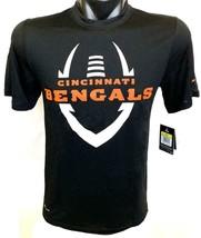 Nike Dri Fit Men's Cincinnati Bengals NFL T-Shirt Style 605888 Size Medium - $15.99