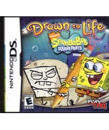 Drawn to Life SpongeBob SquarePants Edition -  Nintendo DS 2008 - $12.00
