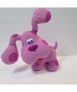 TYCO BLUE'S CLUES Talking Musical Stuffed Pink Plush MAGENTA 1999 - $32.33