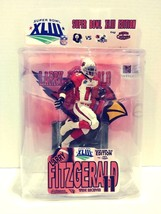 Super Bowl XLIII Edition Larry Fitzgerald Figure Bugeater Customs NFL - $34.99