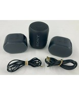 Lot of 3 Sony SRS-XB12 & SRS-XB01 Bluetooth Speakers For Parts Not Working - $39.59
