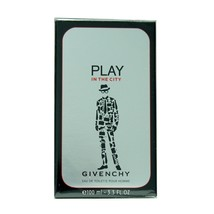 GIVENCHY PLAY IN THE CITY EAU DE TOILETTE POUR HOMME SPRAY 100ML NIB - $64.35