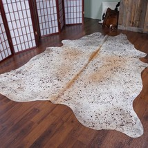 Pink Acid Washed Rodeo Cowhide Rug 7.5x 6.4 ft  - 1978 - $275.83