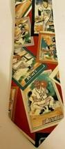 MLB Baseball Necktie Lands End Yankees Padres Tigers Angels Vintage Sty... - $9.70