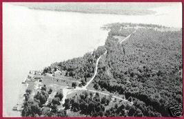 SUGAR ISLAND MICHIGAN Chippewa Co Lake B&W MI BJs - $10.00