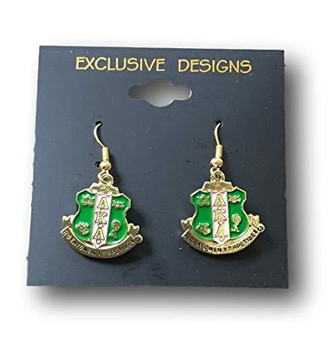 Primary image for Alpha Kappa Alpha Charm Crest Earrings