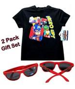 Marvel Avengers Hero Up Boy Super Hero Adventures T-Shirt(4) & Sunglasse... - $13.36