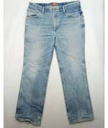 """Wrangler Slim Fit Mens Distressed Jeans Pants Size 38""""x32""""  with Template - $16.10"""