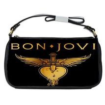 Bon Jovi Heart Dagger logo Shoulder Clutch Bag/Handbag/Purse - $20.99