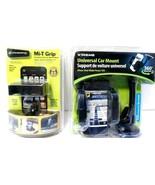 Lot of 2 Cellphone Car Mounts Bracketron Mi-T Grip  Xtreme Universal see... - $11.63