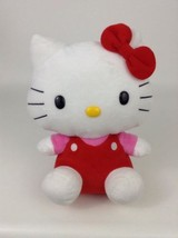 "Ty Sanrio Hello Kitty Beanie Buddies Large 10"" Classic Plush Stuffed Toy... - $16.88"