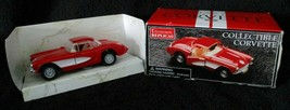 Maisto Die Cast Car Replica 1957 Chevrolet Corvette 1:39 Scale Red & White Chevy - $19.80