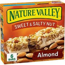 Nature Valley Sweet & Salty Nut Granola Bars, Almond, 6 ct, 1.2 oz each - $10.70