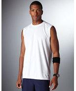 White Medium N7117 New Balance Men Ndurance Athletic Workout T-Shirt - $8.79