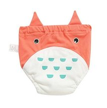 Set of 2 Newborn Baby Training Pants With Chinchilla Pattern Diapers