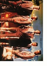 New Edition teen magazine pinup clipping In suits looling fine Boyband Teen Beat