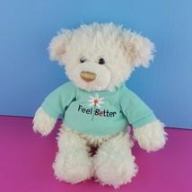 "Gund Feel Better Teddy Bear Plush 11"" Stuffed Animal 319648 Get Well  - $15.84"