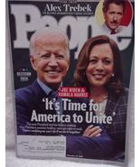 People Alex Trebeck Joe Biden & Kamala Harris November 2020 - $3.99