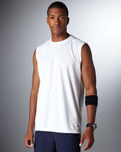 White Large N7117 New Balance Men Ndurance Athletic Muscle T-Shirt - $8.80