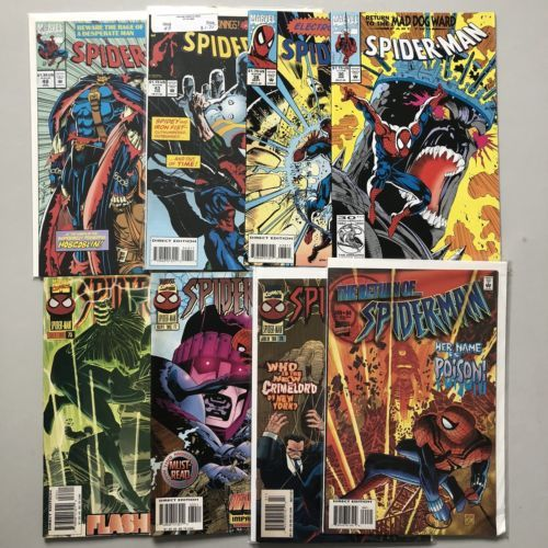 Lot of 16 Spider-Man (1990) from #1-73