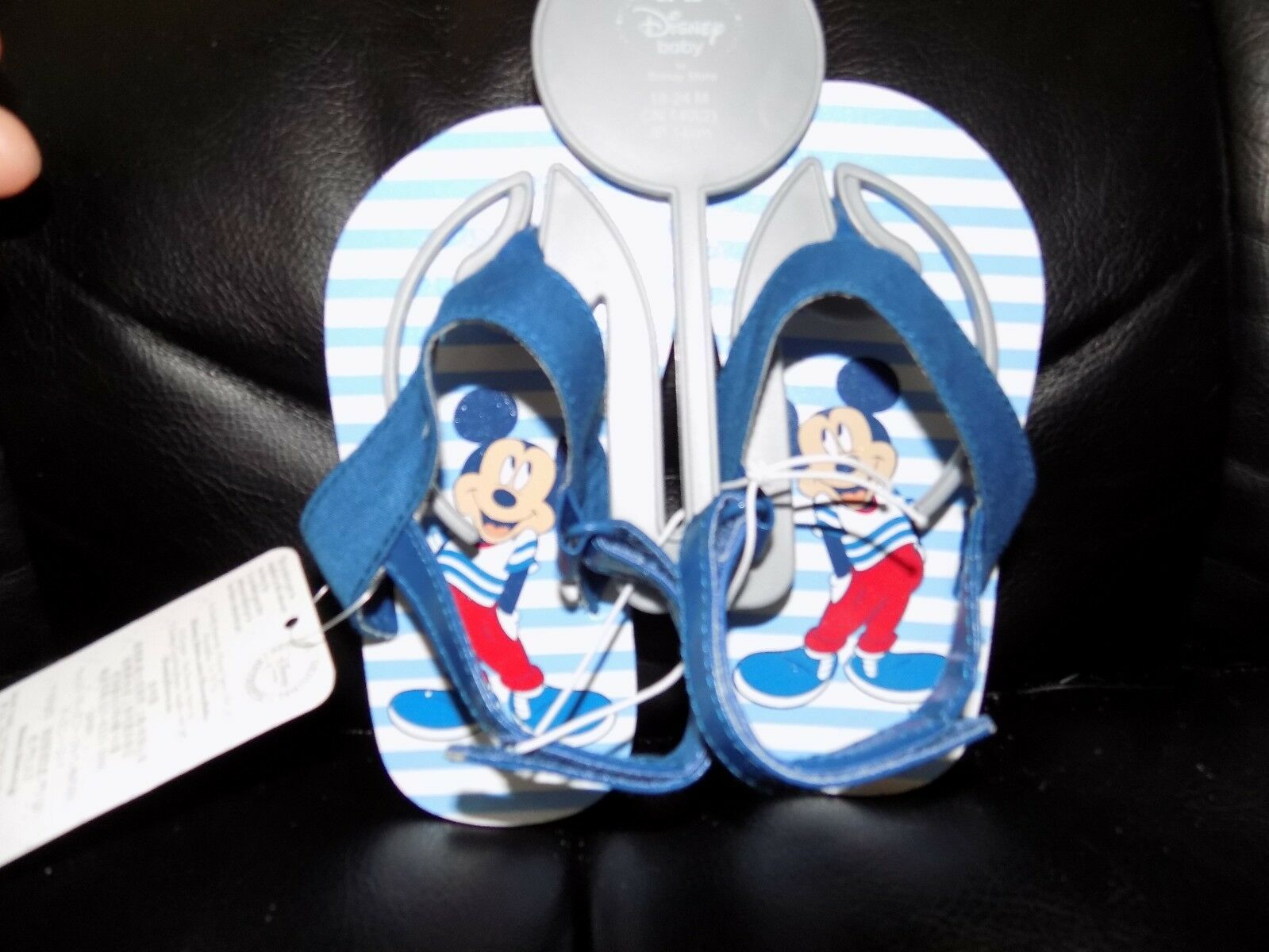 DISNEY STORE BABY MICKEY MOUSE SANDALS
