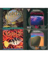 Lot 4 WORLDVIEW Ocean Life Classic CD Win/Mac - $3.99