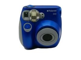 Polaroid - Blue 300 Instant Camera 3.2MP Digital Camera - $38.99