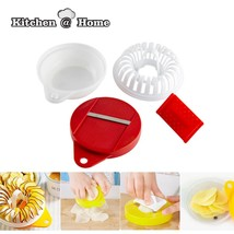 DIY Kitchen Chip Cooker Set Microwave Vegetables Fruit - $19.95