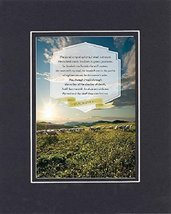 GoodOldSaying - Poem for Inspirations - The LORD is my shepherd; I shall... - $11.14